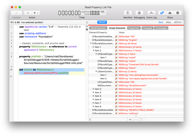 AppleScriptObjC Debugging